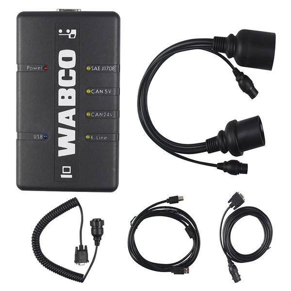 ZOLIZDA WABCO DIAGNOSTIC KIT for Truck Diagnostic Interface professional WABCO DIAGNOSTIC WDI Trailer Support WABCO System