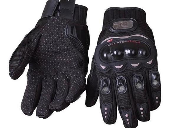 Moda-2016 Venta Caliente Moda Profesional Full Finger Gear Protección Motocicleta Motocross Racing Guantes Guantes Deportivos Al Aire Libre
