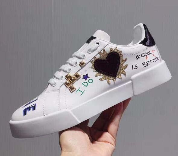 New Leather Flats Designer Sneakers Women men Classic Casual Luxury Franch Letter embroidery Shoes Extremely Walking Runnig Durable 51