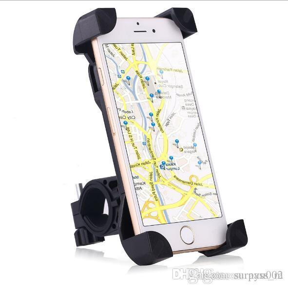 mobile phone holder on the Bicycle/common type electric motorcycle/mountain bike,and navigator rack,prop stand of a bicycle