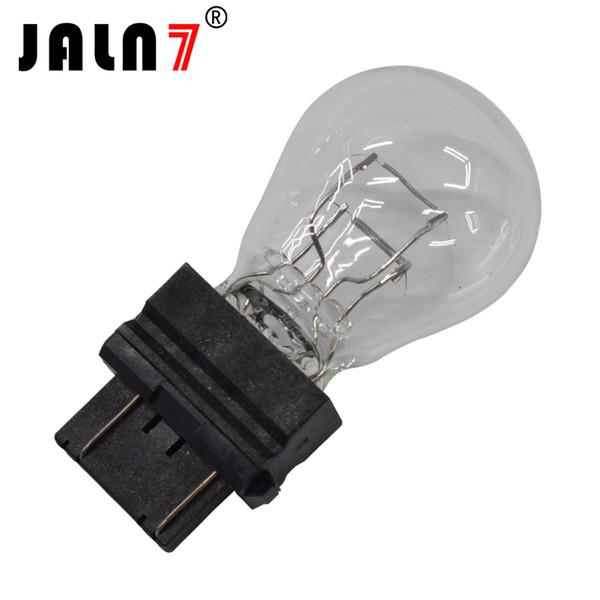 10 Stücke Universal 3157 P27 / 7W Helle Glühlampen Rücklicht Bremslichter Hinterer Stopp Blinker Lampe für Auto / Lkw / Motorrad