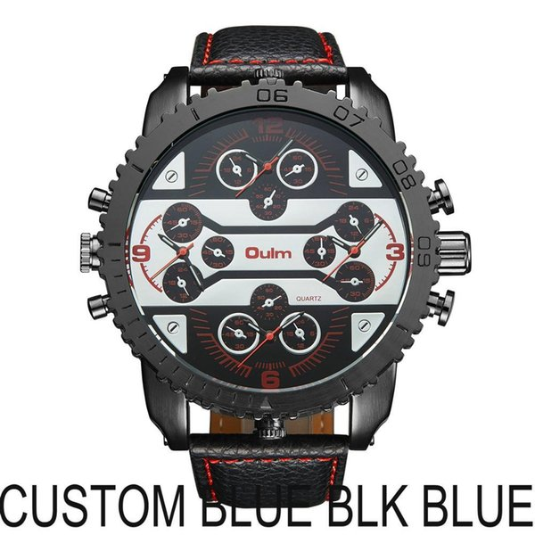 CUSTOM BLUE BLK BLUE