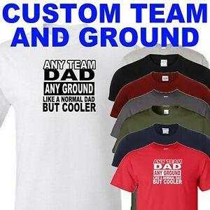 maglietta personalizzata per il papà del calcio (aggiungi squadra e terra con ordine)