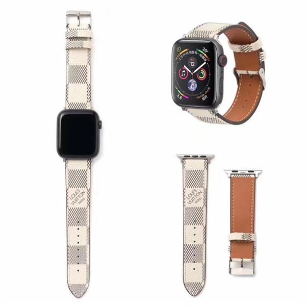 Браслет для браслетов iwatch 42 мм 38 мм Дизайнерский бизнес повседневные ручные петли для Apple Watch Band Прочный регулируемый ремешок для часов Ремешок для часов Line