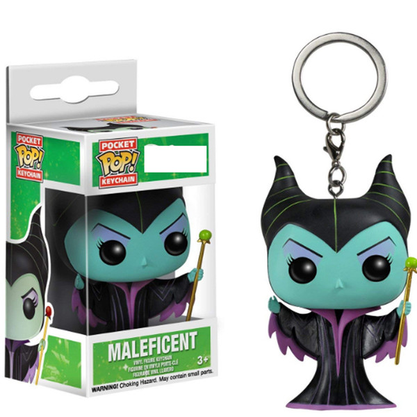 2019 Funko Pop Pocket Maleficent Keychain Maleficent Mistress Of Evil Action Figure Toy From Mylove2015 4 92 Dhgate Com