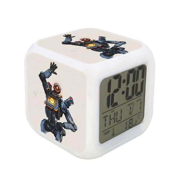 Apex Legends Periphery Table Clocks Led Light Square Colorful Discoloration Originality Leisure Desk Alarm Clock 11 5wxa E1