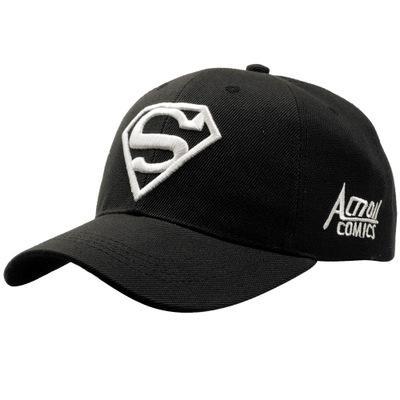 2019 Black White New Letter Superman Cap Casual Outdoor Baseball Caps For Men Hats Women Snapback Caps For Adult Sun Hat Gorras wholesale