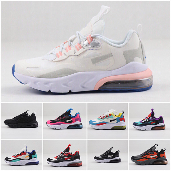 2019 Kids Athletic Shoes Children Basketball Shoes Wolf Grey Toddler Sport Sneakers for Boy Girl Toddler Chaussures Pour Enfant