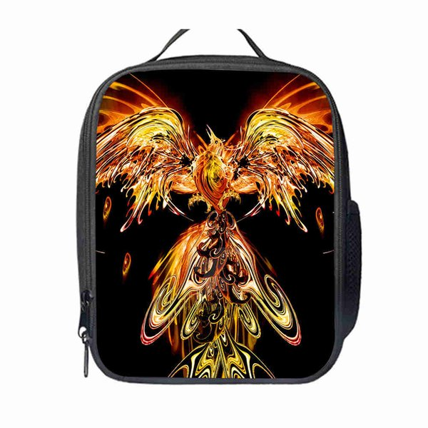 Phoenix Lunch Bag Customized dog Women Men Teenagers Boys Girls Kid School Thermal Cooler Insulated Tote Box