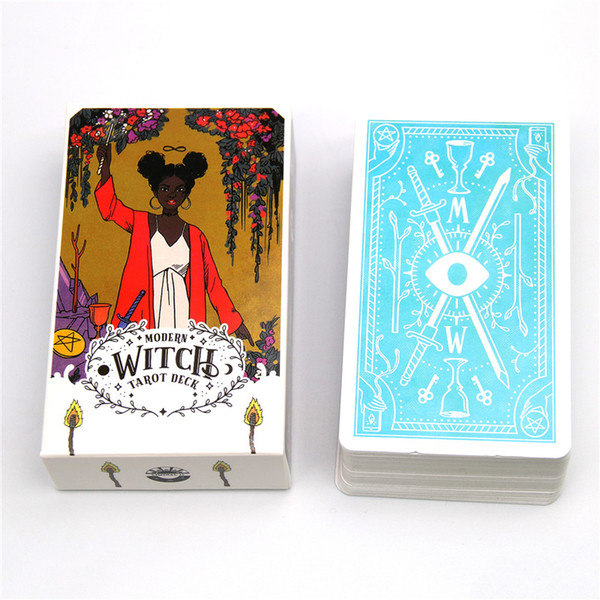 Il moderno mazzo di Tarocchi strega 78 carte