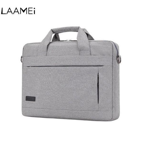 Laamei 14 15 Inch Laptop Handbag For Men Women Briefcase Travel Bussiness Notebook Bags Macbook PC Large Capacity Messenger Bags #88048