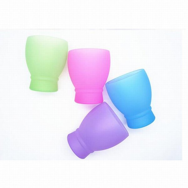 Support to Make Logo !! Silicone Wine Cup Non Toxic Stemless Red Wines Cup Water Drops Folding Red Wine Glasses Portable Travel Cups