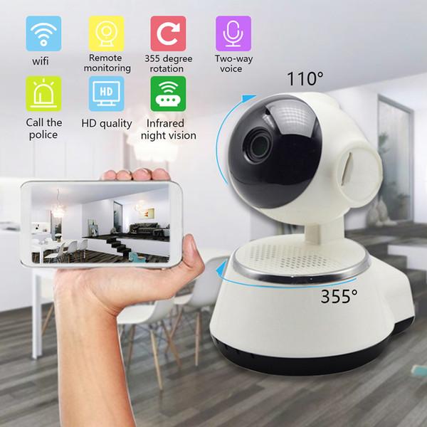 Baby-Monitor tragbare WiFi-IP-Kamera 600TVL Wireless Baby-Kamera-Smartphone-Videoaufzeichnung Überwachung Home Security