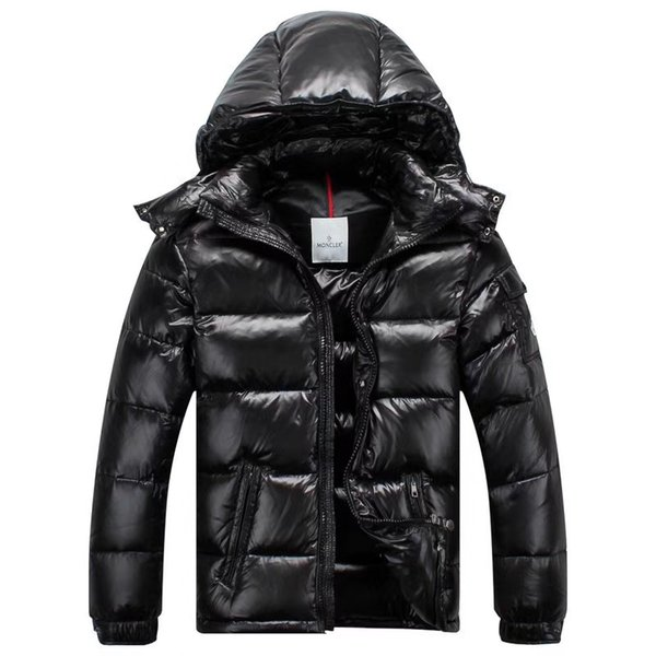 Style french de ign cla ic down jacket jacket for men and women black glo y tandard cu tomization whole ale price can be inquired