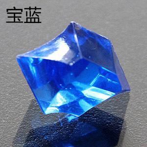 진한 파란색