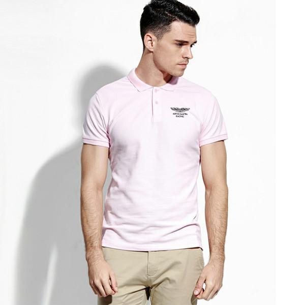 Camisa POLO de la marca de moda de lujo caliente Diseñador de la marca de los hombres Verano de los hombres Deportes Casual de manga corta elegante diseño minimalista