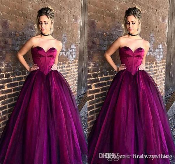2019 A Linha Prom Vestido Querida Backless Longo Formal Feriados Desgaste Da Graduação Evening Party Gown Custom Made Plus Size