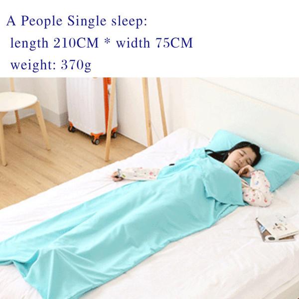 #6 single /blue/ 210*75cm