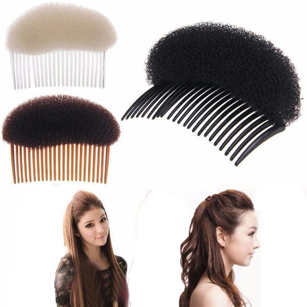 Fashion Women Hair Styling Clip Plastic Stick Bun Maker Tool Comb Hair Accessories For Hairdressing Maker Braider Girls