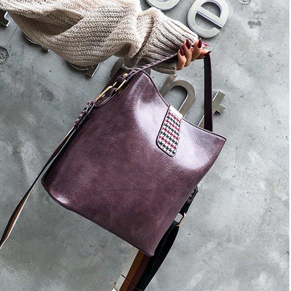 2019 New Women Bag Sewing Leather Handle Women Messenger Bags Fashion Women Handbags Evening Party Bag Female