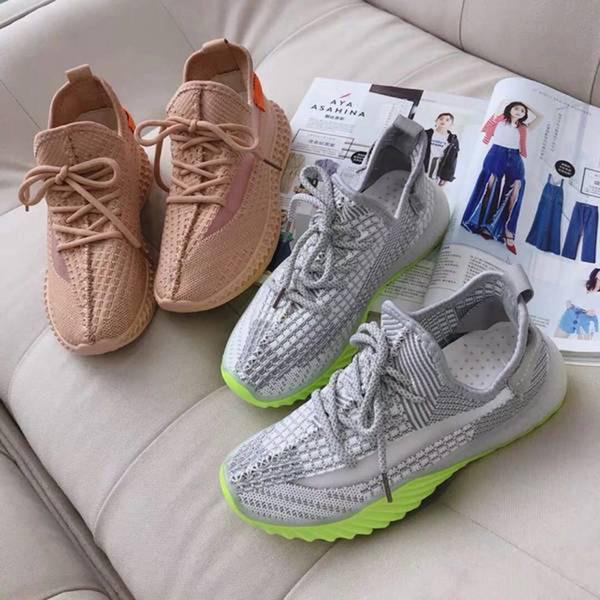 2019 Scarpe da ginnastica da uomo e da donna di marca nuova moda Abito traspirante Sneaker urbana con scatola