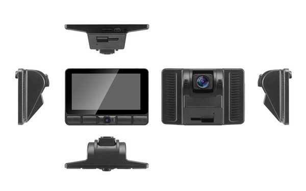 CT903 Three lens HD 1080P car DVR / CT903 hidden car black box camera/ CT903 HD dash camera with three cameras