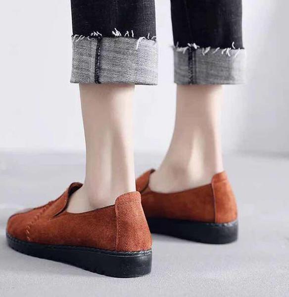 calzados informales de la zapatilla de deporte de Formadores Moda calzado deportivo Entrenadores Los zapatos del diseñador de la UE: 35-45 Con exquisita caja de envío Y158