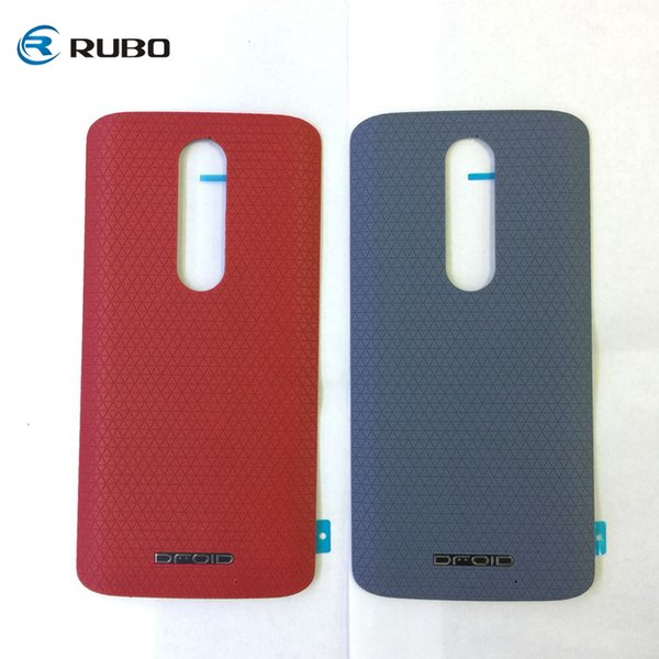 Battery Cover for Moto X Force Back Housing Door Case for Motorola Droid Turbo 2 XT1585 XT1580 Replacement Spare Parts