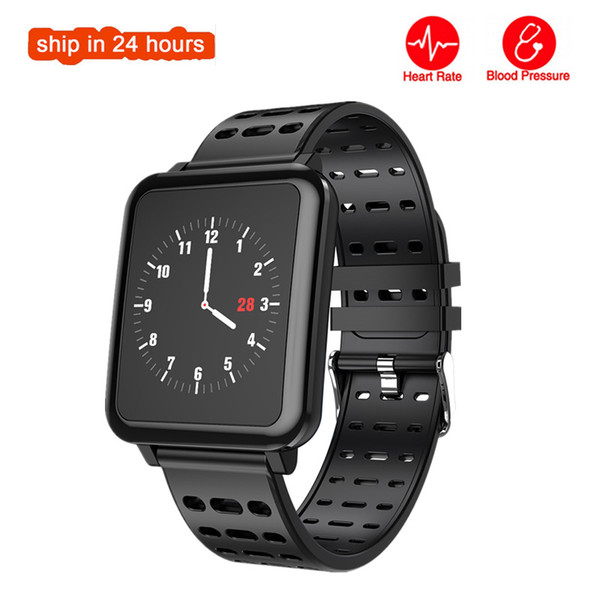 T2 Smart Watch Men Women IP67 Waterproof Smartwatch Heart Rate Professional Sport Modes Long Standby Band