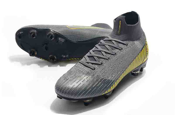 14996d6f4 original Mercurial Superfly VI 360 Elite Ronaldo FG Always Forward soccer  shoes chaussures football boots high