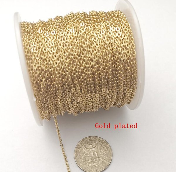 1,5 milímetros banhado a ouro