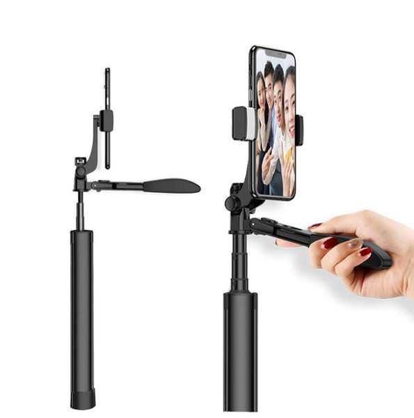 Smartphone Handheld Gimbal Stabilizer mit Fokus Pull Zoom für iPhone Xs Max Xr X 8 Plus 7 6 SE Android Samsung