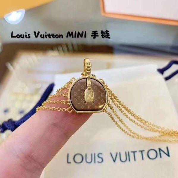 Elegant Sliver/Rose Gold Bracelet Chain Bangle Round Circle designers lvLouisvuitton Bracelets For Women Luxury Jewelry Brand