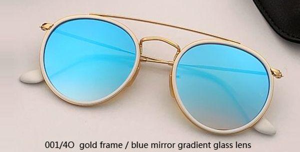 001/4O gold - blue mirror gradient