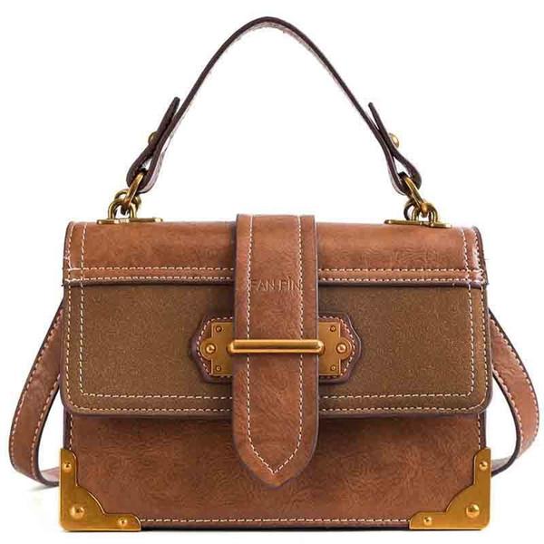 Women's Fashion Casual Pu Multi-function Bag Messenger Bag Ladies Wild Shoulder Bags Solid Color Handbag Shoulder Bag