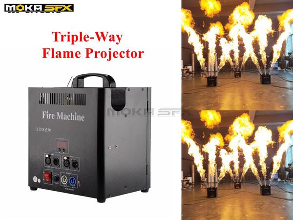 Triple-way Flame Machine