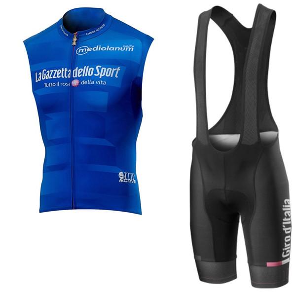 2019 Велоспорт Джерси Team Tour De Italia Горный Велосипед Одежда Мужчины Лето Mtb Велосипедная Рубашка Шорты Биб Костюм Quick Dry Спортивная Униформа Y041503
