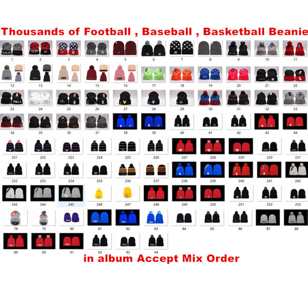 top popular New Basketballs Baseball Beanie hats Beanies hats Snapback Hats Gothenburg Vastra Gotaland Sweden ,Pine bluff Arkansas USA Mix order 2019