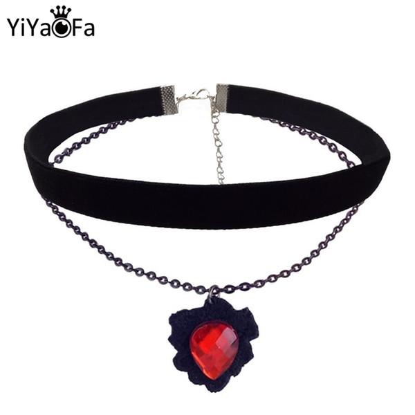 Handmade Choker ожерелье Vintage Женщины Аксессуары готического ювелирные изделия Заявление ожерелье Lady партия ювелирные изделия для девочек