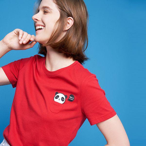 Toyouth 2019 Fashion Animal Print женская футболка Cato с короткими Mouwen женские футболки Summer Random Harajuku футболка Femme Top