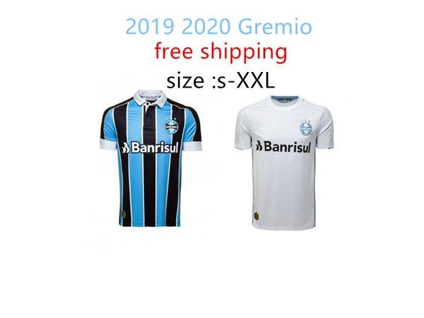 Ücretsiz kargo 2019 Gremio futbol Forması 2020 home away D. TARDELLI LUAN GEROMEL Kannemann ALISSON 19 20 tay kaliteli Brezilya ligi futbol