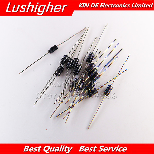 100PCS SF28 Super Fast Rectifier Diode 2A 600V DO-15 Free shipping