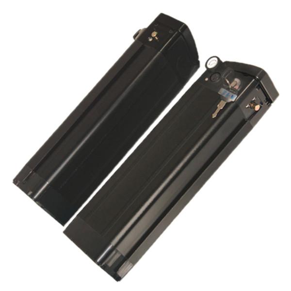 36V10Ah Silver Fish тип Алюминий Черный корпус Литий-ионный аккумулятор с портом USB 5.0V Для электрического велосипеда