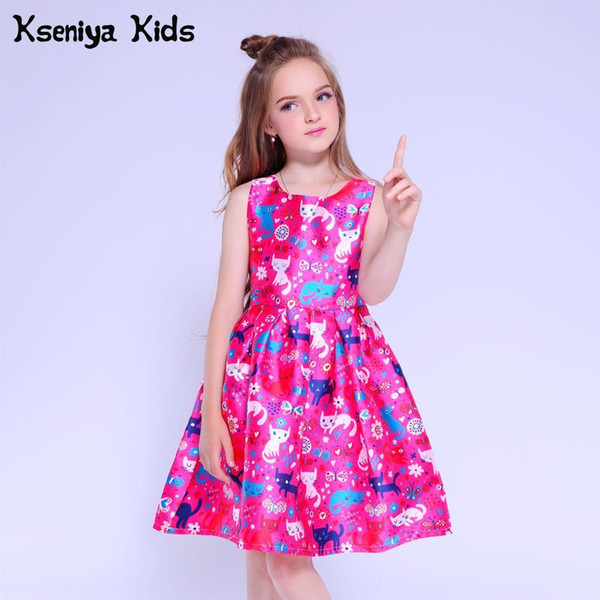 2019 Kseniya Kids Girls Dresses For Party And Wedding Baby Girl Clothes  Children Evening Dresses Girls Graduation Dress Age 10 12 13 J190505 From