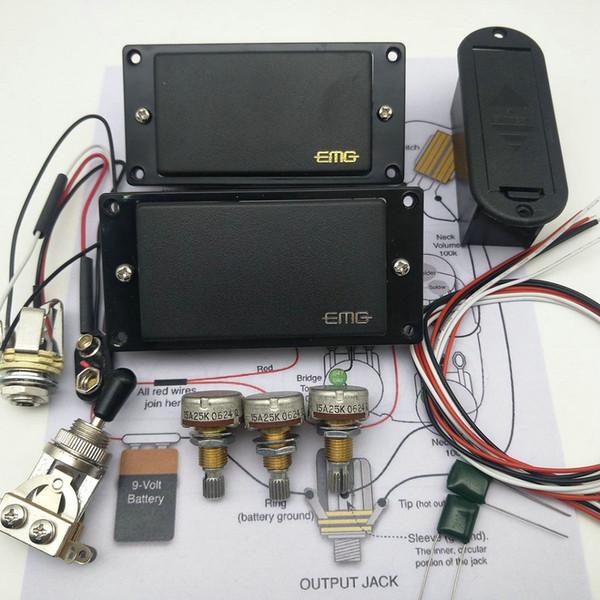 Capacità di 3 pezzi EMG