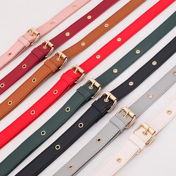 Fashion Bag Strap PU Leather Bag Chain Multicolor Handle Shoulder bags Serpentine Straps Belt Accessories For Women