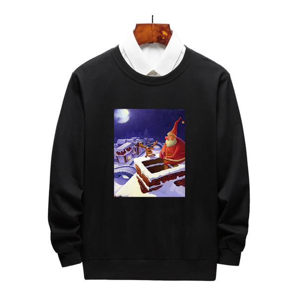 Pullover Designer Womens capuz Mens por Hoodies com Impresso dos desenhos animados de alta qualidade Marca Hoodies Homens Natal roupa M-4XL