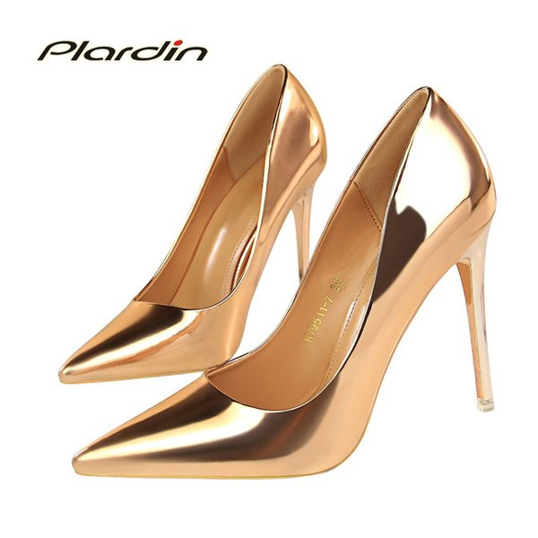 efc217e1a Платье Plardin Новая Мода Европа И США Ветер Мода Высокий Каблук Женская  Обувь Лаконичный Офис Карьера
