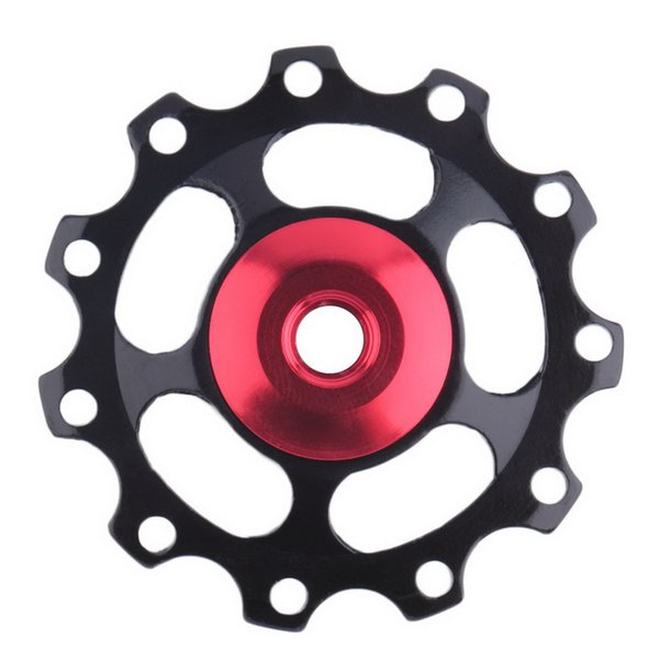 Jockey Wheel 11 Tooth MTB Ultralight Aluminum Alloy Upgraded RS Bearing Pulley Road Bicycle Bike Derailleur - Bicycle Parts