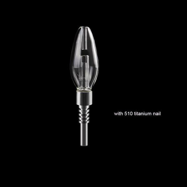 with 510 titanium tip